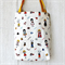 Library Tote Bags Polka Dot Kids Print