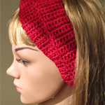 Headband with front twist