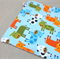 wash or burp cloth - cows / organic cotton bamboo / baby toddler boy girl