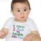 "Gay Dads Embroidery ""It takes 2 Dads to look this cute"" Baby Boy Bodysuit LGBT"