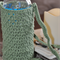 Groovy Green  Water Bottle Carrier