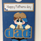 Handmade Fathers Day Gift Card - Boy, Paper Piecing