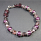 Bracelet: Purple Glass Beads & Amethyst Czech Glass Beads