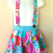 Size 3 Skater Skirt with Adjustable Suspenders