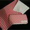 Pink wipes case and change mat