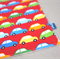 wash or burp cloth - red cars / organic cotton and bamboo / baby child unisex
