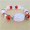 Gemstone Beaded Stretch Bracelet