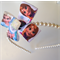 Boutique Frozen Cream Pearl Headband with Princess Bling!