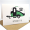 Happy Birthday Card - Male - Green Caravan - HBM050