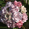 bouquet of paper flowers - Pinks