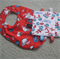 Baby Set - Bib and Mini Taggie - Dr Suess