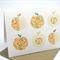 Blank Card - Apples Geometric - BLA038