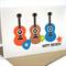 Happy Birthday Card - Boy - 3 Guitars - HBC067