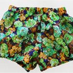 Vintage Crepe Floral Fabric Bloomers.