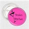 10 Medium badges - 'Bride's Bitches' hens party badges