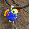 Handmade Colourful Bird Necklace