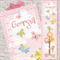 (Birds Bugs Butterflies) Personalised Fabric Height Chart 30x106cm