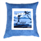 Ducks by The Sea Cushion Cover in Blue, Black and White