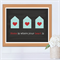 Home is where your heart is Print Housewarming Gift - Home Sweet Home - 8 x 10