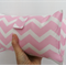 Nappy Wallet - Pastel Pink Chevron