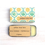 Wild Orange and Peppermint Natural Lip Balm, FREE SHIPPING