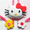 Hello Kitty Face Clip Holder
