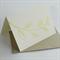 Rustic sprig linocut letterpress greeting card