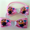 Minions Bow Hair Elastic Ties (2 Pack)