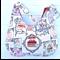 Cupcake Cake Teapot Ladies Hobo Bag Purse