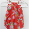 """Red Girls Baby """"Seaside Playsuit"""" - Sizes: 0000-000"""
