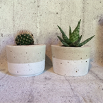 Single Concrete Planter / Candle Holder - CUSTOM COLOURS AVAILABLE