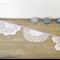 Violet Bunting Vintage Wedding Doily Doilies Purple Mauve Cream White