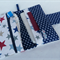 Deluxe Nappy Wallet // pocket with zipper // Stars