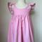 Size 5 Fairy Floss Pink Hummingbird Dress