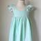 Size 4 Mint Confetti Hummingbird Dress