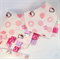 BABY GIRL'S Taggie Comforter & Matching Bandana Dribble Teething Bib Set