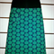 Skirt with Green & Blue Daisies & Bamboo Stretch Waist