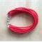RED COLOUR BASICS BRACELET - FREE SHIPPING WORLDWIDE