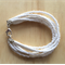 WHITE COLOUR BASICS BRACELET - FREE SHIPPING WORLDWIDE