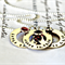 Washer Necklace Personalised Jewellery Children's Names Birthdate Necklace