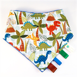 BANDANA DRIBBLE TEETHING / SENSORY BIB for BOYS