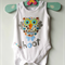 Cute Hoot Baby Owl Onesie New Baby Gift All sizes and sleeve lengths