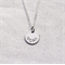 Sterling Silver Custom Hand Stamped Name Necklace 12mm