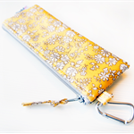 Insulin Pen Case Pouch with Inside Pockets - Liberty of London Capel (Yellow)