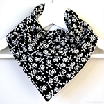 BUY 3 GET 4th FREE Bandana Dribble Bib Pirate Skulls