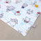 wash or burp cloth - sea critter / organic cotton bamboo towelling / child  baby