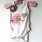 Baby Girls Pink Elephant Baby Onesie Baby Gift All sizes and styles available
