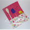 Kitchen Utensil Wrap - Pink Cherry