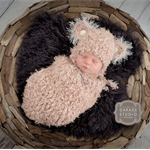 Teddy Bear Set Photo Prop for Newborn