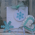 12 Snowflake Gift Tags ~ Princess Party ~ Favour Tags